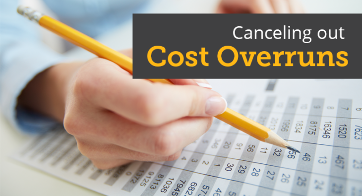Canceling Out Cost Overruns