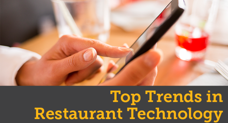 Top Trends in Restaurant Technology