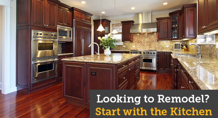 Looking to Remodel? Start with the Kitchen