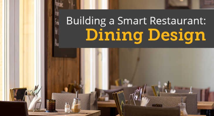 Building a smart restaurant dining design